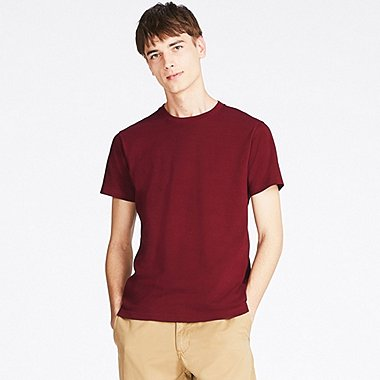 MEN CREW NECK SHORT SLEEVE T-SHIRT