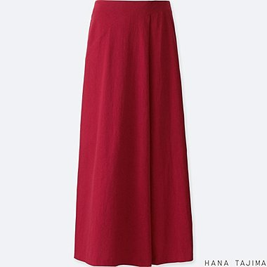 WOMEN HANA TAJIMA TUCKED LONG SKIRT