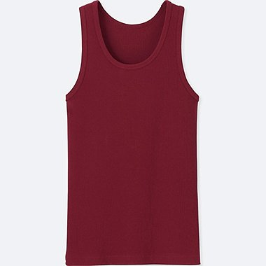 MEN PACKAGED DRY RIBBED TANK TOP