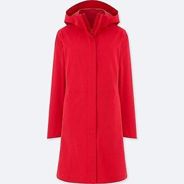 WOMEN BLOCKTECH COAT, RED, medium