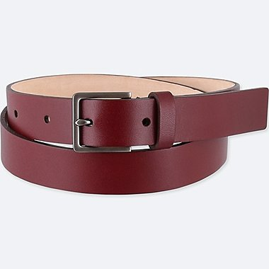 WOMEN CLEAN BELT, RED, medium