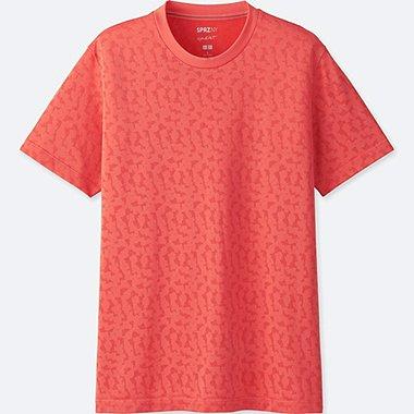 MEN SPRZ NY DRY-EX SHORT-SLEEVE GRAPHIC T-SHIRT (FRANCOIS MORELLET), RED, medium