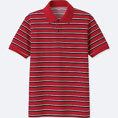 MEN DRY-EX SHORT SLEEVE POLO SHIRT