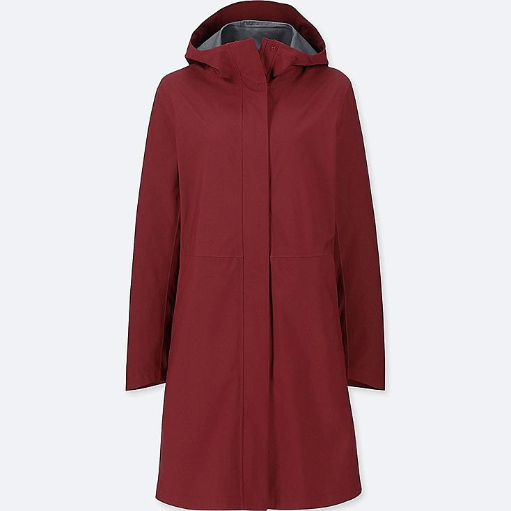 WOMEN BLOCKTECH COAT, RED, large