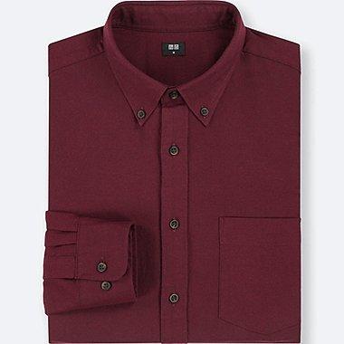 MEN Flannel Long Sleeved Shirt