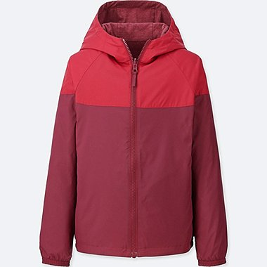 BOYS REVERSIBLE PARKA, RED, medium