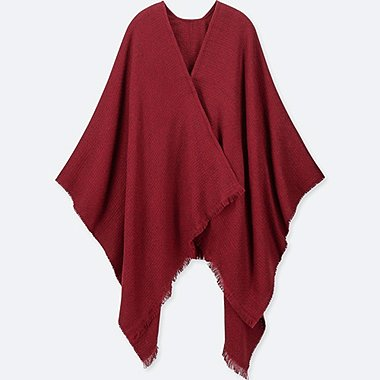 2-WAY STOLE, RED, medium
