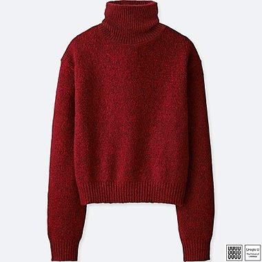Damen U Pullover (Rollkragen)