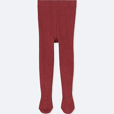 TODDLER KNITTED TIGHTS, RED, medium