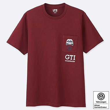 T-SHIRT GRAPHIQUE À POCHE FRONTALE THE BRANDS VOLKSWAGEN HOMME