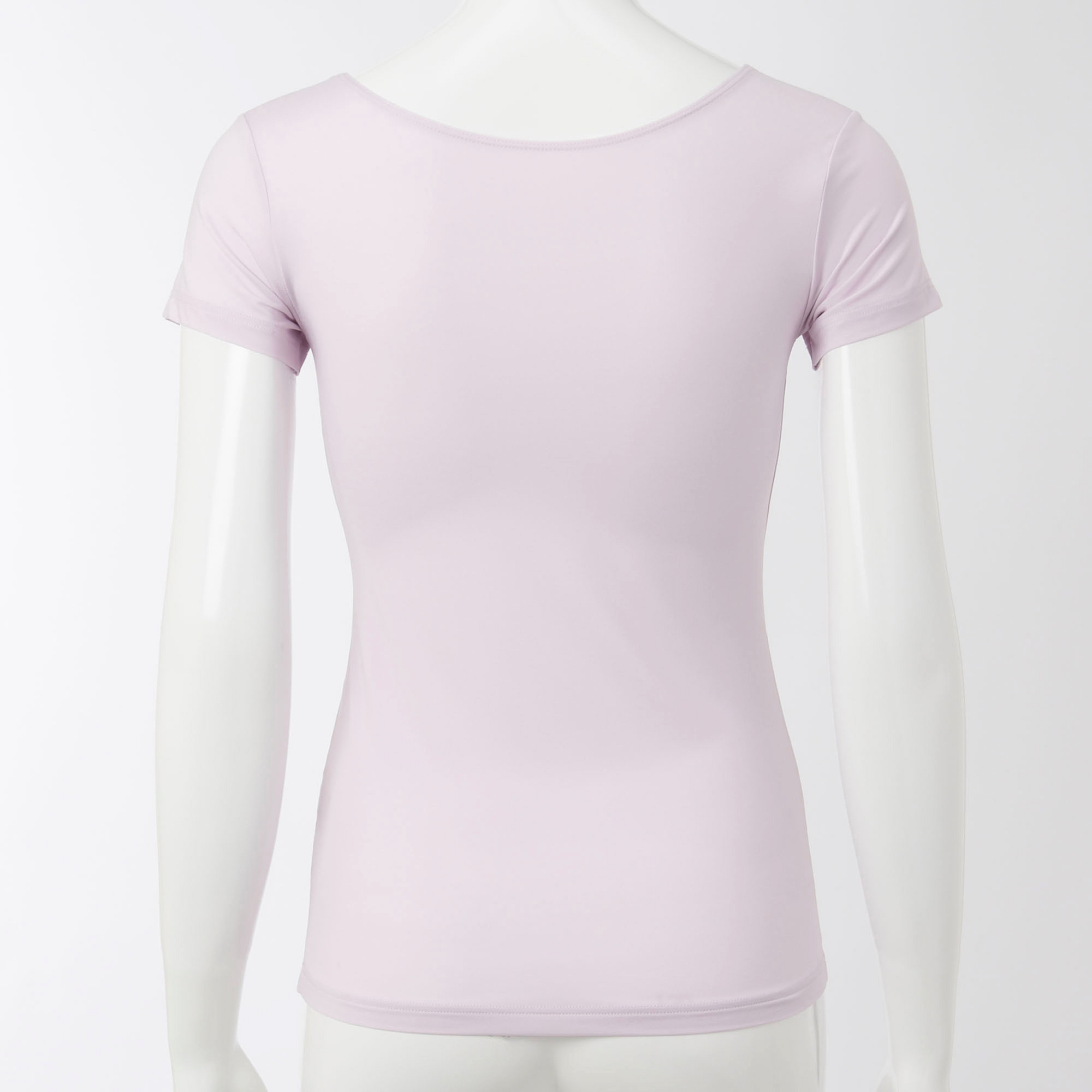 5d429e83d3bf Uniqlo WOMEN AIRism Scoop Neck Short Sleeve T-Shirt at £4.9
