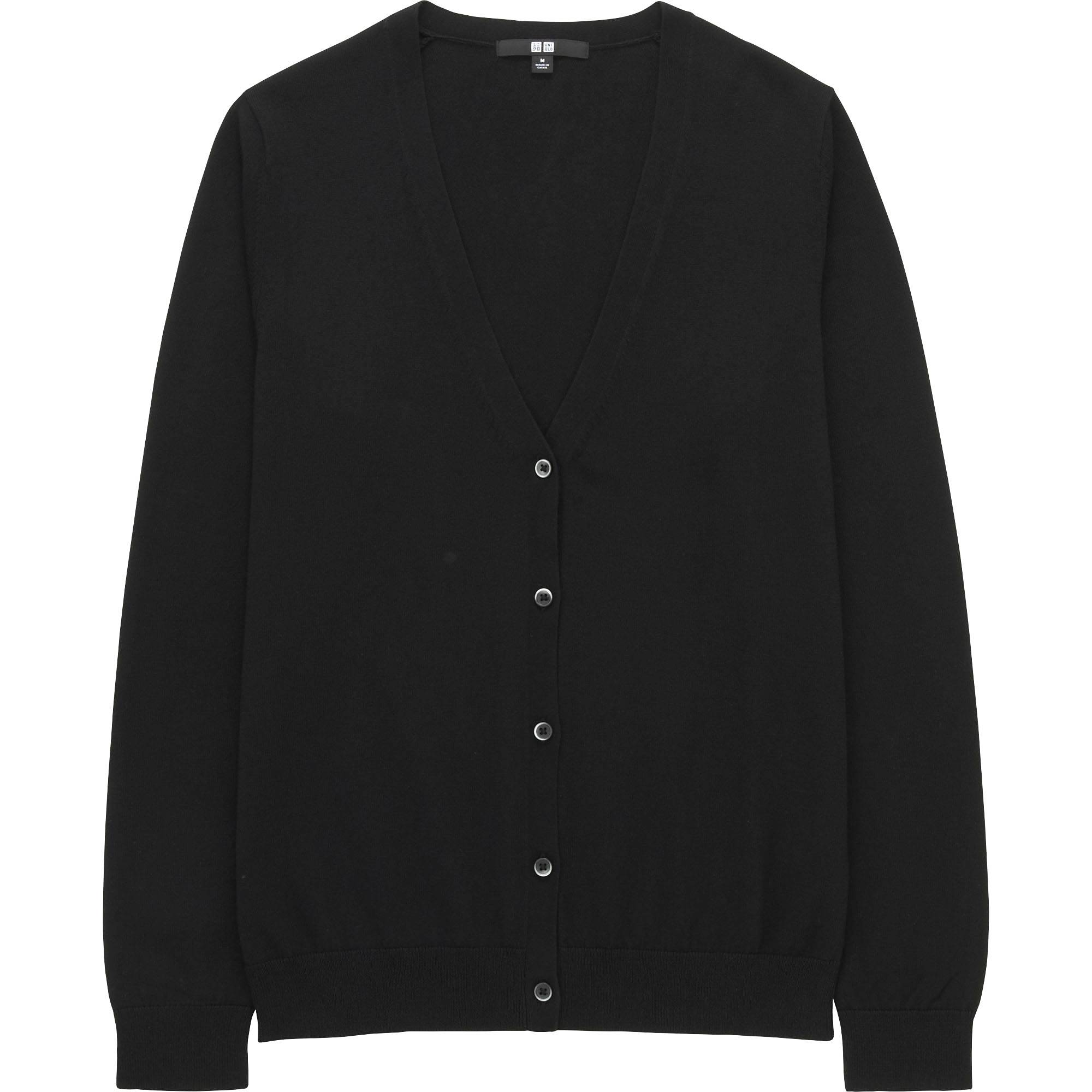 WOMEN Supima® COTTON V-NECK CARDIGAN | UNIQLO US