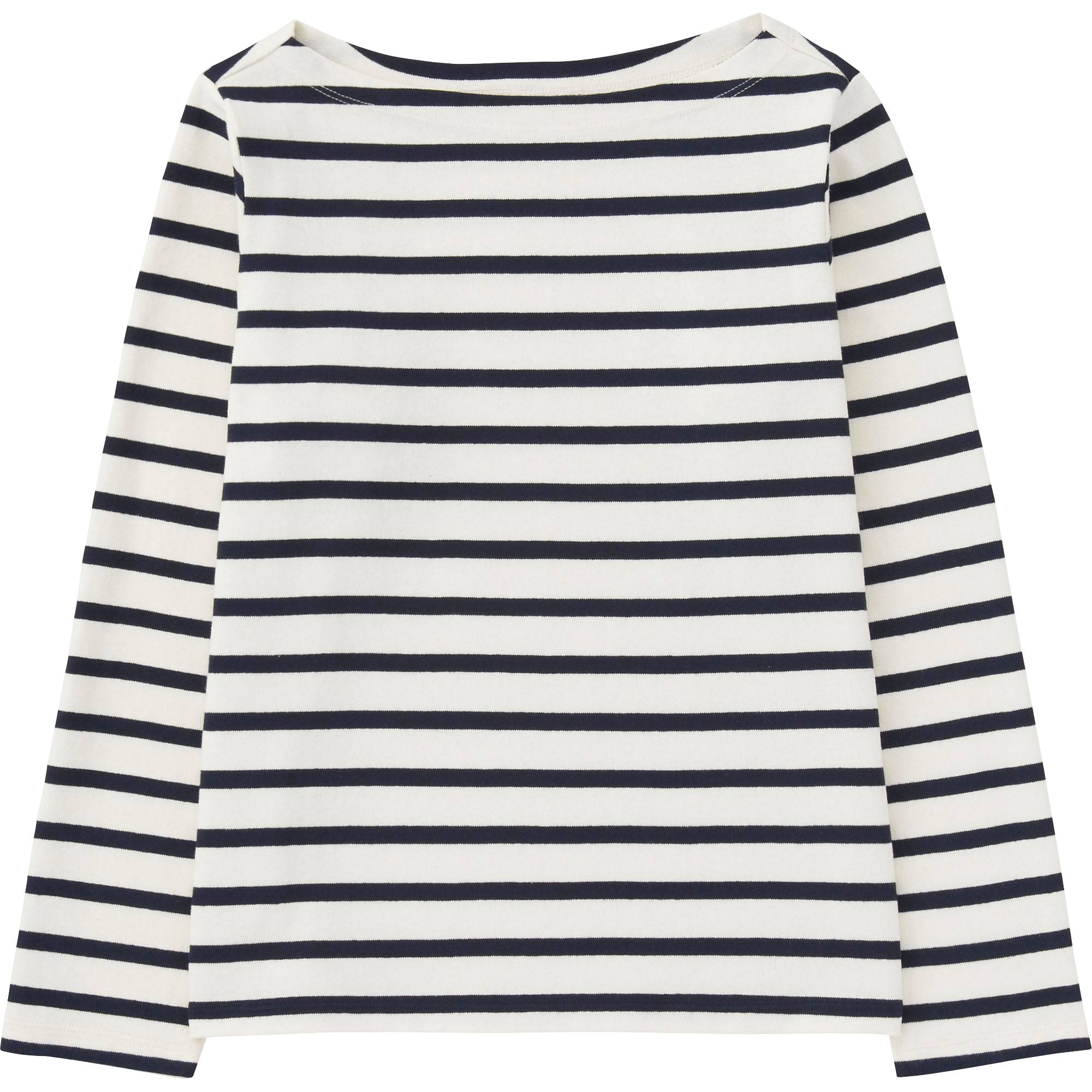 Black and white striped t shirt xxl - Women Striped Boat Neck Long Sleeve T Shirt Blue Small