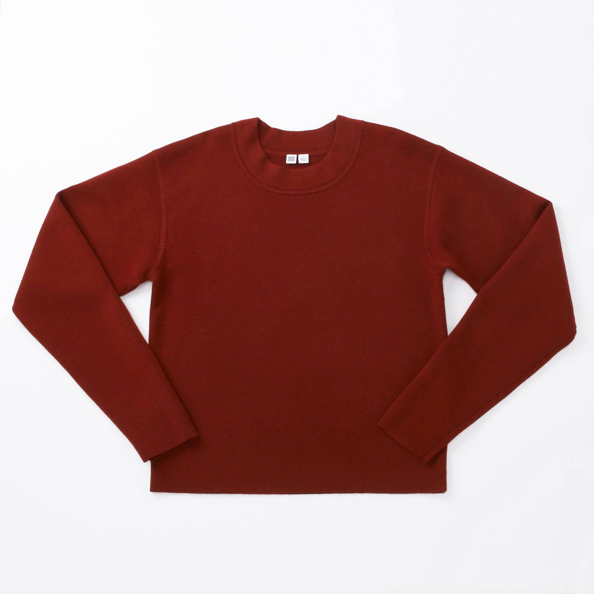 WOMEN U MILANO RIBBED CREWNECK SWEATER | UNIQLO US