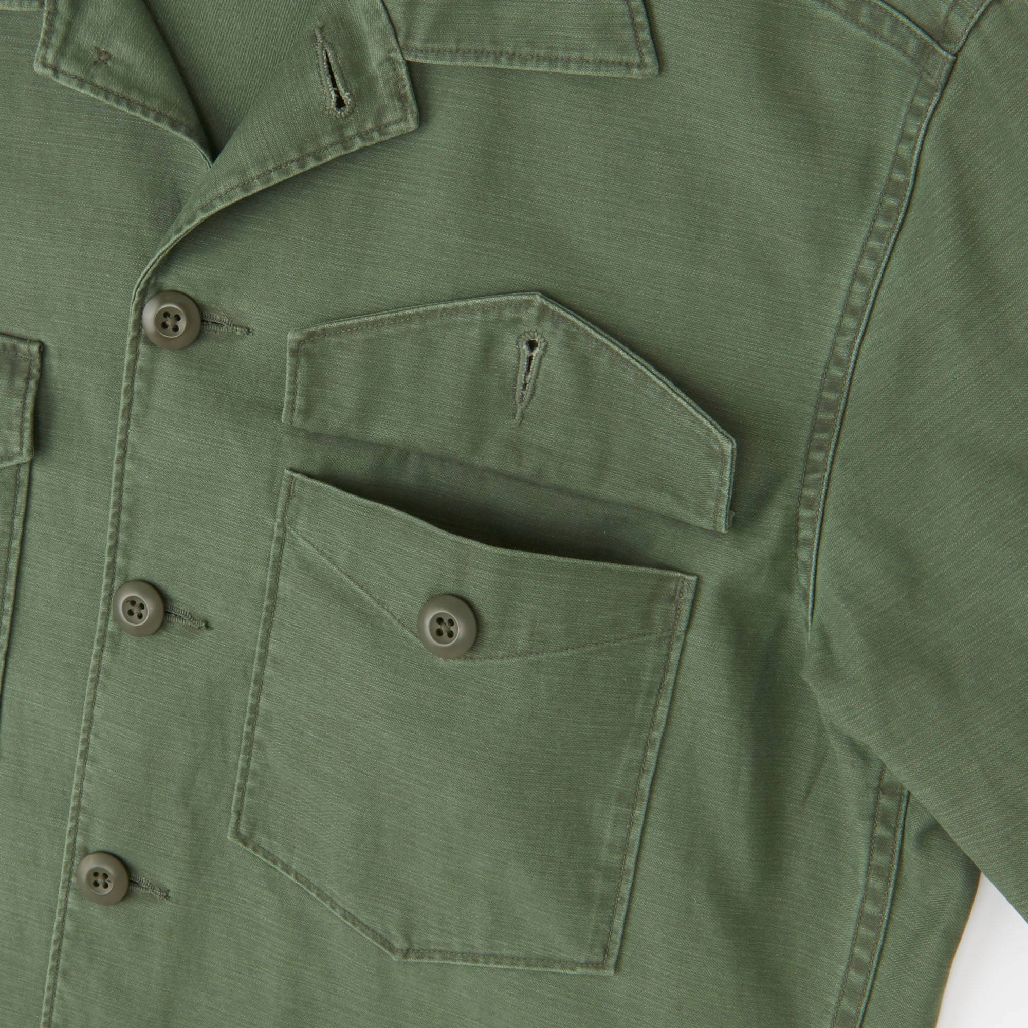 MEN MILITARY WORK LONG SLEEVE SHIRT | UNIQLO US