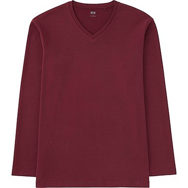 T-Shirt Soft Touch Col V HOMME