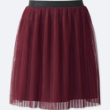 GIRLS TULLE PLEATED SKIRT
