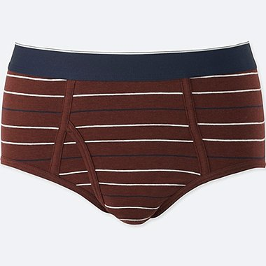 MEN SUPIMA® COTTON BRIEFS, WINE, medium