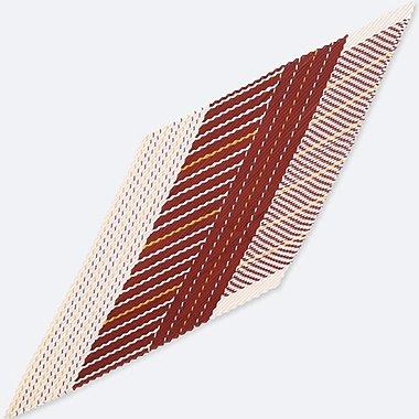 Bufanda con brillo y pliegues (rallas) MUJER