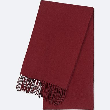 HEATTECH SCARF, WINE, medium