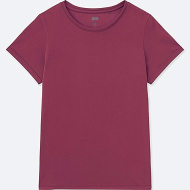 WOMEN DRY-EX CREW NECK SHORT SLEEVE T-SHIRT