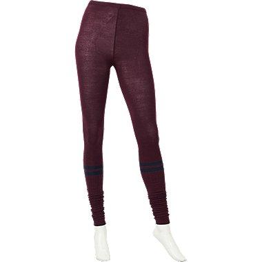 WOMEN HEATTECH Knitted Extra Long Leggings (Line)