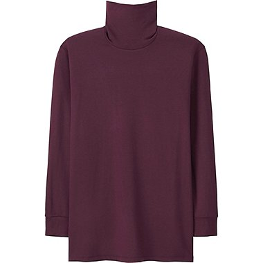 HEATTECH MEN Extra Warm T-Shirt (Long Sleeve)
