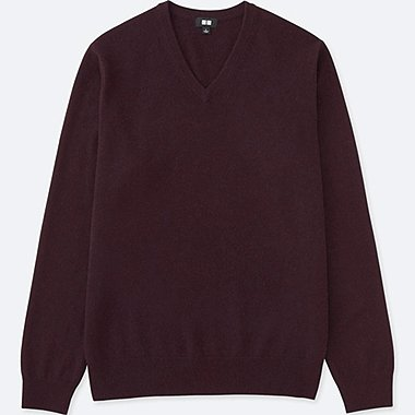 MEN Cashmere V Neck Sweater