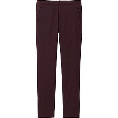 WOMEN BLOCKTECH WARM-LINED SLIM FIT PANTS, WINE, medium