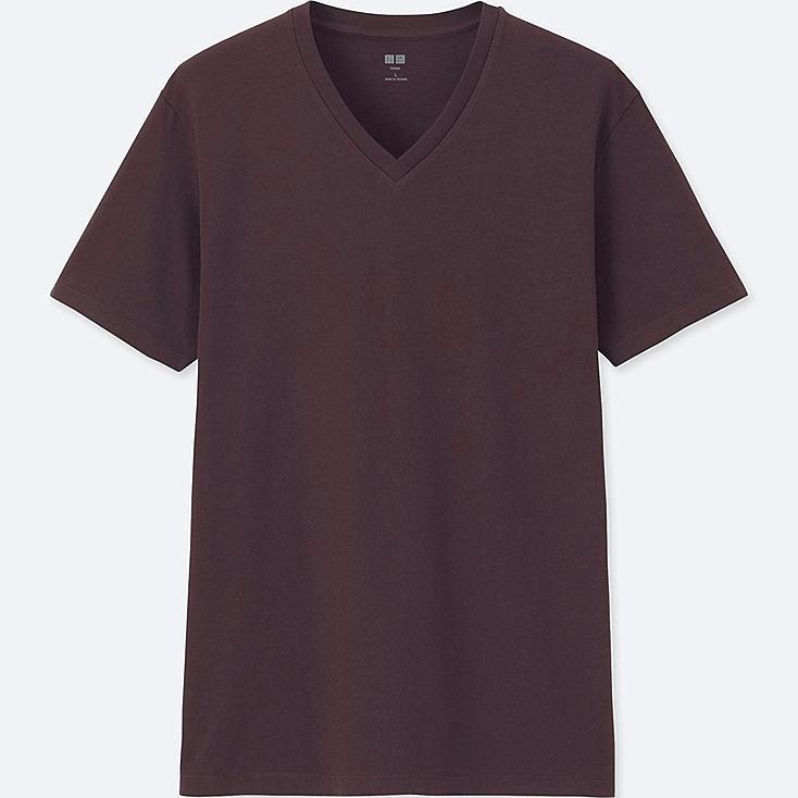 Camiseta manga corta cuello redondo de algodón SUPIMA HOMBRE