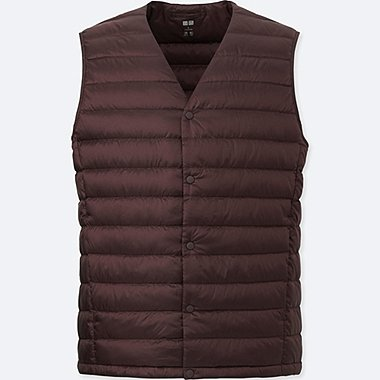 Ultra Light Down Compact Vest, WINE, medium