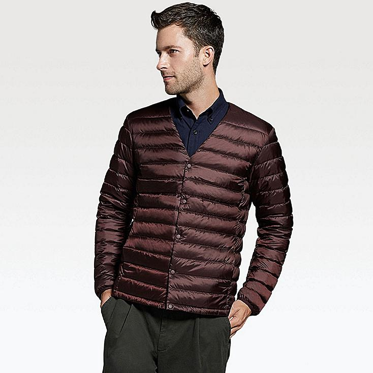 ULTRA LIGHT DOWN COMPACT JACKET, WINE, large