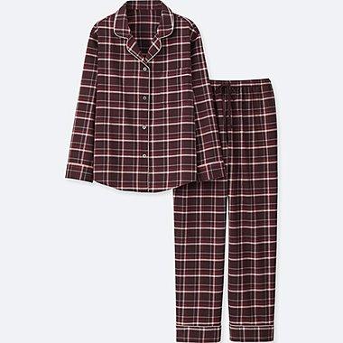 DAMEN FLANELL Pyjama