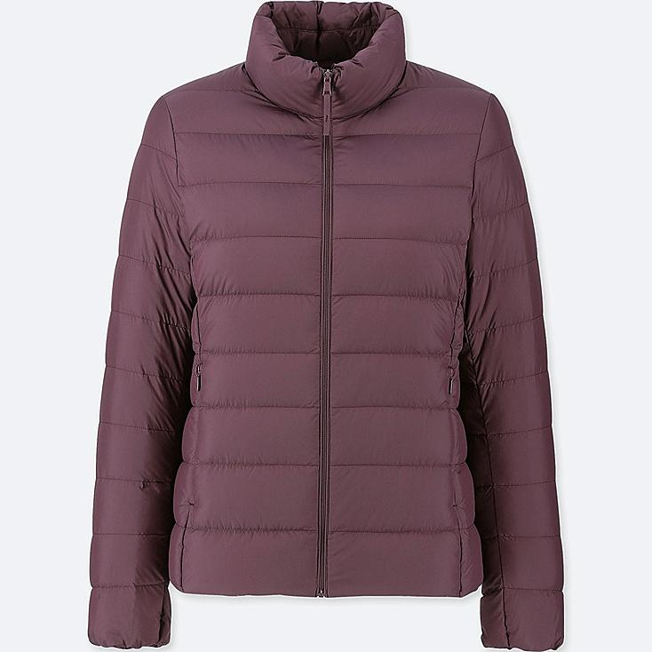 WOMEN ULTRA LIGHT DOWN JACKET, WINE, large