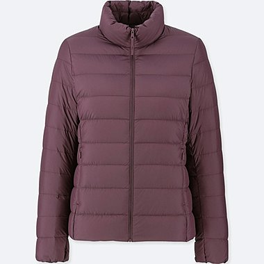 WOMEN ULTRA LIGHT DOWN JACKET, WINE, medium