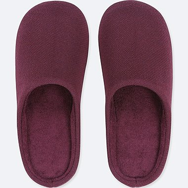 PILE LINED SLIPPERS