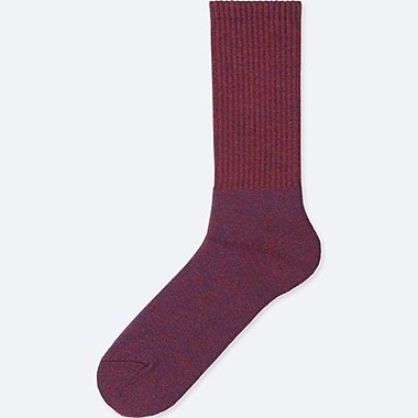MEN HEATTECH PILE SOCKS