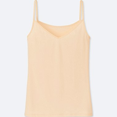 WOMEN AIRism CAMISOLE, LIGHT ORANGE, medium