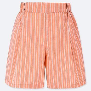GIRLS EASY FLARE SHORTS, LIGHT ORANGE, medium