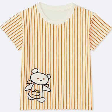 TODDLER THE PICTURE BOOK SHORT-SLEEVE GRAPHIC T-SHIRT, ORANGE, medium