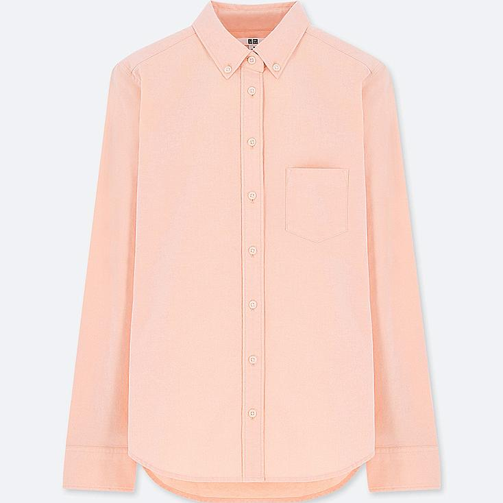WOMEN OXFORD LONG-SLEEVE SHIRT (ONLINE EXCLUSIVE) | Tuggl