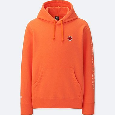 MEN SPRZ NY HOODED SWEATSHIRT (TIMOTHY GOODMAN), ORANGE, medium