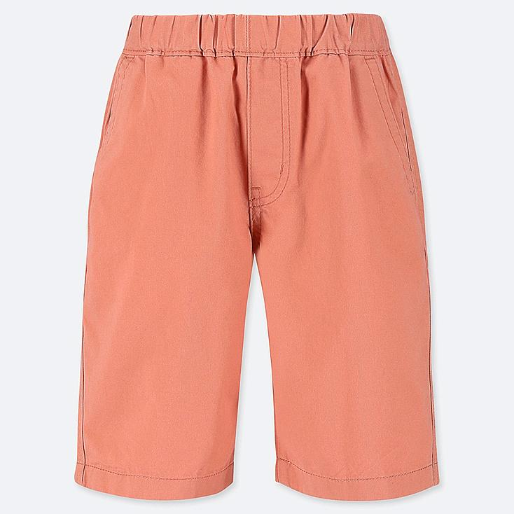 BOYS EASY SHORTS, ORANGE, large