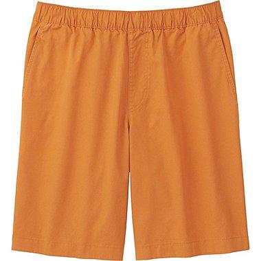Mens Twill Shorts, ORANGE, medium