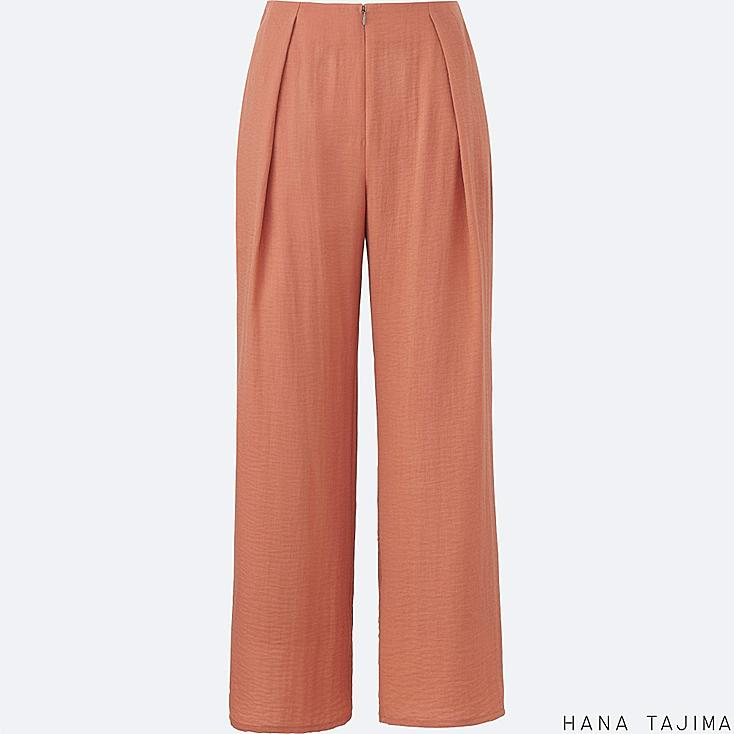 WOMEN Hana Tajima Crepe Wide Leg Trousers
