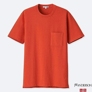 J.W.ANDERSON 100% COTTON WASHED SHORT SLEEVE T-SHIRT
