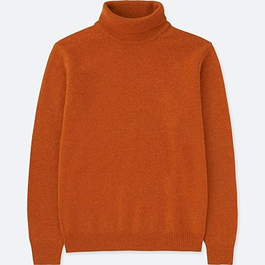 MEN PREMIUM LAMBSWOOL TURTLENECK LONG SLEEVED JUMPER