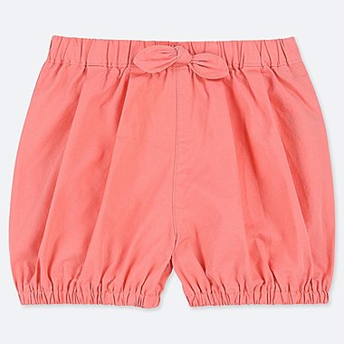 TODDLER PUMPKIN SHORTS, ORANGE, medium
