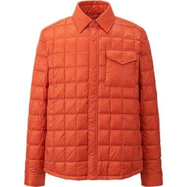MEN Ultra Light Down Shirt Jacket