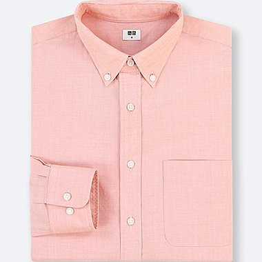 MEN EXTRA FINE COTTON BROADCLOTH LONG SLEEVE SHIRT